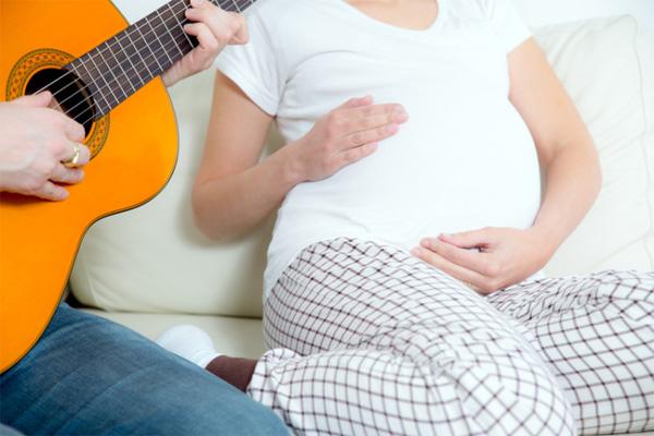 thai nhi nghe nhạc tháng thứ mấy, tháng bắt đầu cho thai nhi nghe nhạc, nhạc cho thai nhi